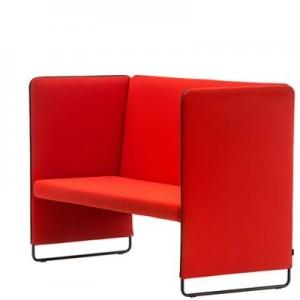Soffa Pedrali red